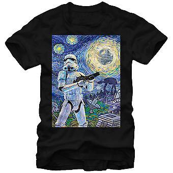 Star Wars Stormy Night T-paita