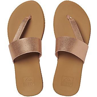 Reef Mujeres Cojín Rebote Sol Casual Flip Flops Thongs Sandalias - Oro Rosa