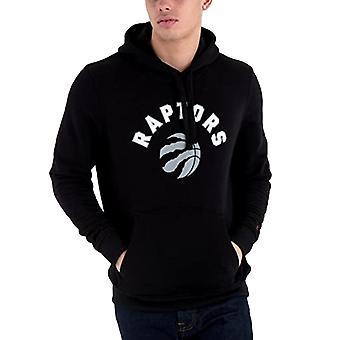 New Era Toronto Raptors NBA-joukkue Pullover Huppari Huppari - Musta