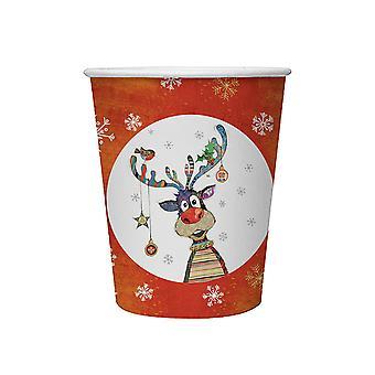 Joe Davies Kooks Xmas Party Cup Rudolf BG0346