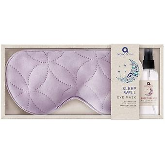 Aroma Home Relax & Warm Lavender Eye Mask & Pillow Spray: Lilac