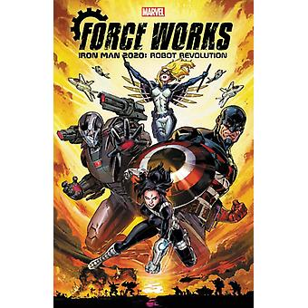Iron Man 2020 Robot Revolution Force Works par Rosenberg & Matthew