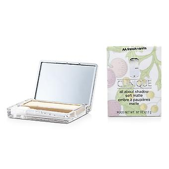 Clinique All About Shadow - # AA French Vanilla (Soft Matte) 2.2g/0.07oz