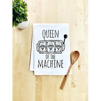 Queen Of The Machine Dish Towel