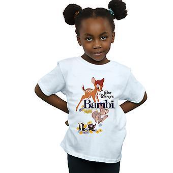 Disney Girls Bambi Juliste T-paita