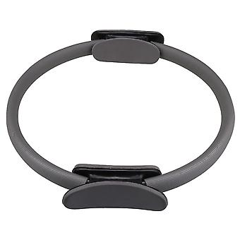 Balanced Pilates Circle for Toning Thighs Inner Dia 30cm Gray