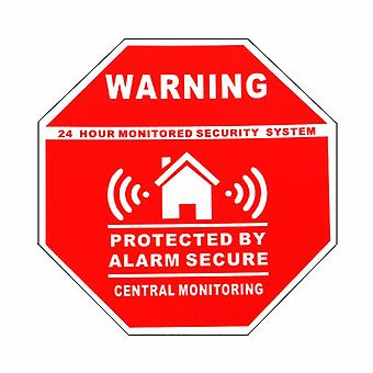 Home House Alarm Security Stickers / Decals Signs For Windows & Doors Warning
