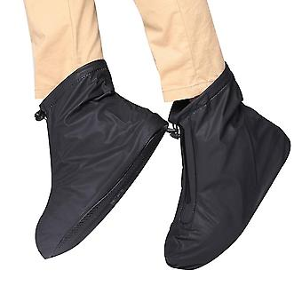 Men Women Thickening Waterproof Rain Boots, Reusable Shoe Cover
