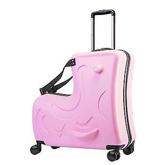 Bambini rotolamento bagagli spinner ruote valigia per bambini cabina trolley borsa da viaggio