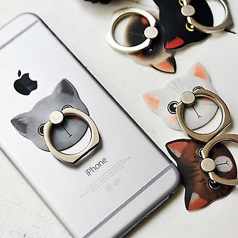Cute Cat Universal Smart Ring Holder