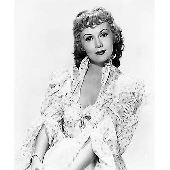Punapäät Seattle Rhonda Fleming 1953 kuva tulosta