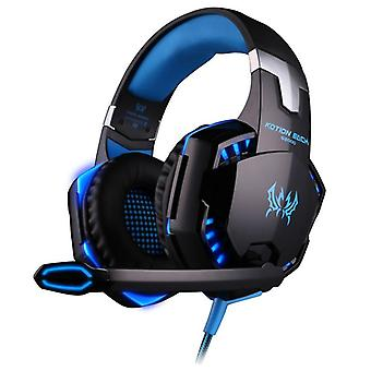 Deep Bass Stereo Wired Gamer Earphone Microphone With Backlit For Ps4/laptop