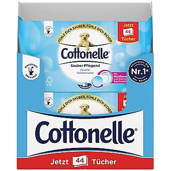 Cottonelle Moist Toilet tissues