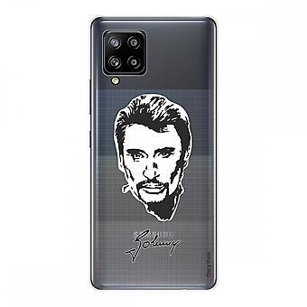 Scafo per Samsung Galaxy A42 5g in Silicone Soft 1 Mm, Johnny