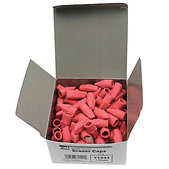 Crayon Eraser Caps, Rose, 144/Box