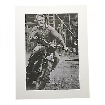 Larrini Mcqueen Great Escape Off Set 2 A4 Mounted Photo