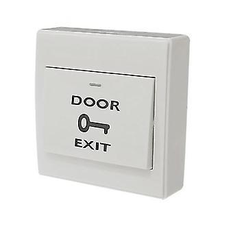Botón de salida montado / Tarjeta lector Interruptor de acceso a puerta abierta Interruptor eléctrico adecuado