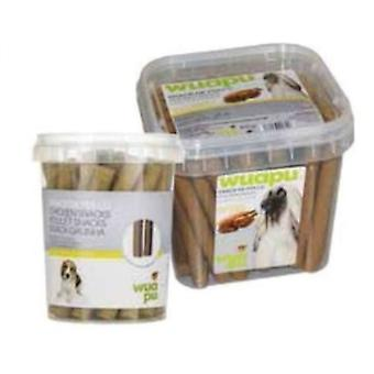 Wuapu Snacks Chicken 800 Gr (Dogs , Treats , Sticks , Chewy and Softer Treats)