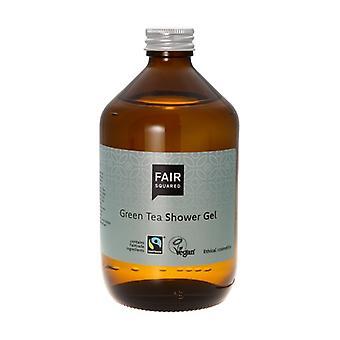 Zero Waste Green Tea Shower Gel 500 ml of gel