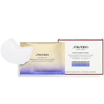 Shiseido حيوية الكمال رفع وثبات قناع العين السريع 12 أكياس