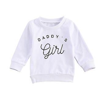 Bebek Çocuk Bebek / erkek Uzun Kollu Hoodie, İlkbahar Sonbahar Giyim Kıyafetleri Üstleri