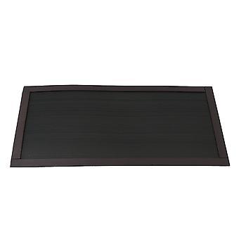 12x24cm Black Magnetism Filter Mailh anti-poussière pour produit électronique