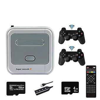Super Console X Pro Video Game, Emulator Support Kodi Wifi Retro Console