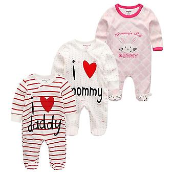Baby Clothes, Long Sleeve Winter Cotton Overalls