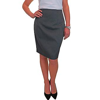 Femmes's Fully Lined Knee Length High Waist Elegant Suit Pencil Jupe Dots Motif 8-16