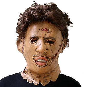 Texas Chainsaw Massacre Mask Halloween Props Horror Cosplay Props Latex Headgear