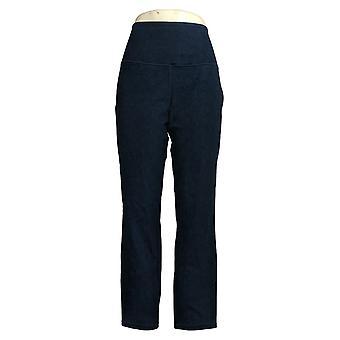 Frauen mit Kontrolle Frauen's Jeans Regelmäßige Stretch Reversible Blau A366039