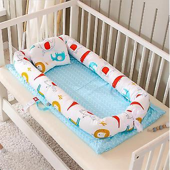 Lit de nid de bébé, lit de couchage, panier portatif de lit de nouveau-né infantile,