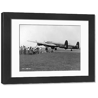 The Dam Busters. Large Framed Photo. The Dam Busters.