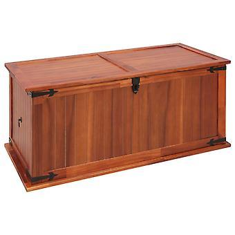 vidaXL storage chest 79 x 34 x 32 cm acacia solid wood
