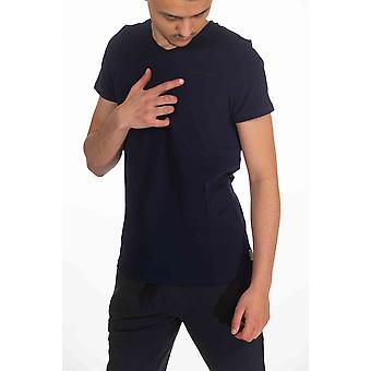 Navy Cerruti T-shirt met korte mouwen voor heren