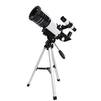 30070 子供&アポス;s望遠鏡ホリデーギフト天文望遠鏡プロ星空観測望遠鏡コンパクト三脚ウォッチング単眼