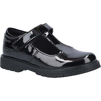 Hush Puppies Girls Gracie Junior Patent Leather School Shoes