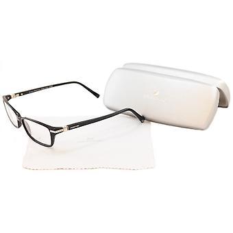 סברובסקי משקפיים מסגרת כנה SW5081 001 פלסטיק שחור איטליה עשה 53-15-135