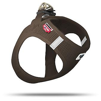 Curli Mesh Harness For Dogs Brown Color (Dogs , Collars, Leads and Harnesses , Harnesses)