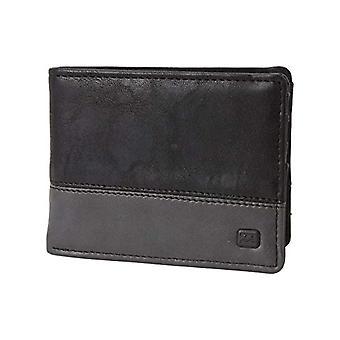 BILLABONG Size for Men, Travel Accessory, Bi-Fold Wallet, (Black Char), One Size