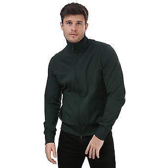 Miesten Y-3 Classic Track Jacket vihreällä