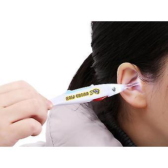 2Pcs cuillère de prélèvement d'oreille lumineuse visible et détachable outil de prélèvement d'oreille pour enfants az16102