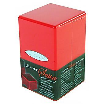 Ultra Pro Červená saténová vežová palubná skrinka