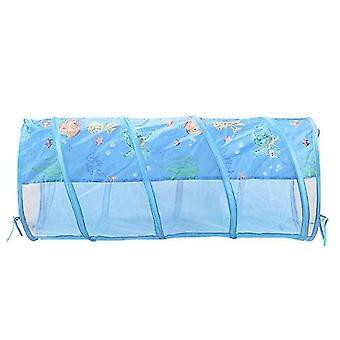 uusi ljc0019-teltta talo pelata tunneli ryömiä playhouse linna valtameri pallo allas kuoppa vauva sm16623