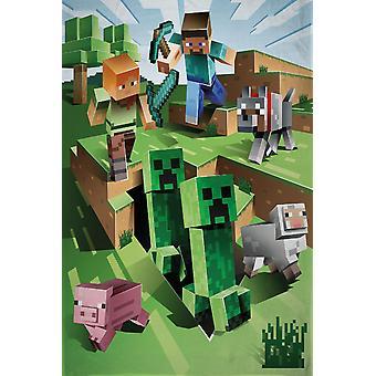 Minecraft Battle Blanket Fleece Blanket 130x170cm