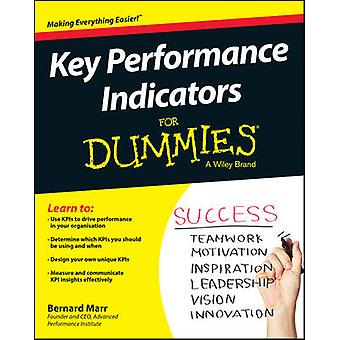 Key Performance Indicators For Dummies by Marr & Bernard