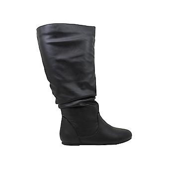 Brinley Co Women's Shoes Jayne Closed Toe Over Knee Fashion Boots