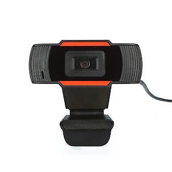 HD Webcam 720p USB pyörivä kamera videotallennukseen Web-kamera mikrofonilla PC-tietokoneelle