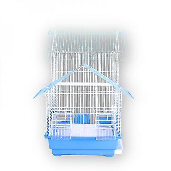Double Storey House Villa Birdcage Four Color Metal Birdcage Indoor Hanging Parrot Cage