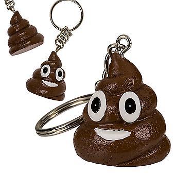 Fun Poo Keyring - Cracker Filler Gift